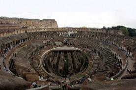 Pasang Lantai Baru Colosseum Ditargetkan Beres 2023