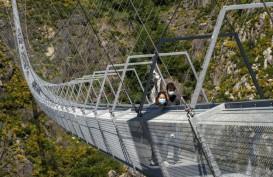 Portugal Buka Jembatan Gantung Super Tinggi, Berani Coba?