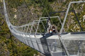 Portugal Buka Jembatan Gantung Super Tinggi, Berani…