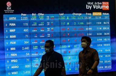IHSG Masih Rentan Koreksi, Rekomendasi Saham BBCA hingga MYOR