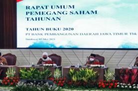 Bank Jatim Bagikan Dividen Rp733,5 Miliar