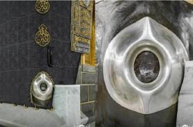 Pertama di Dunia, Foto Hajar Aswad di Ka'bah Terlihat…
