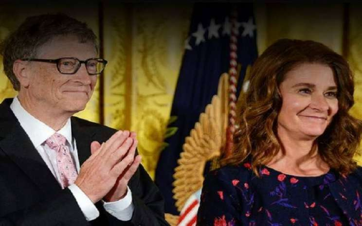 Bill Gates dan Melinda Ann French. - Bloomberg