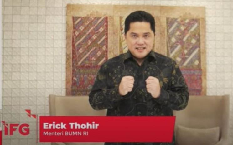 Menteri BUMN Erick Thohir - Istimewa