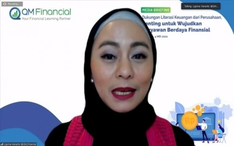 Lead Financial Trainer QM Financial Ligwina Hananto