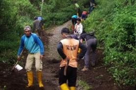 Jalur Pendakian Gunung Ciremai Diperbaiki, Siap Dibuka…
