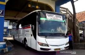 Penumpang Bus yang Tiba di Terminal Guntur Mulai Meningkat