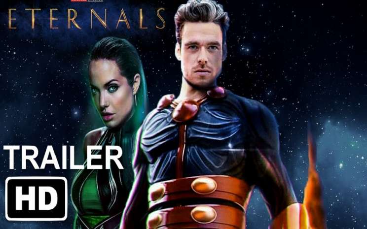 Trailer film The Eternals  -  Youtube