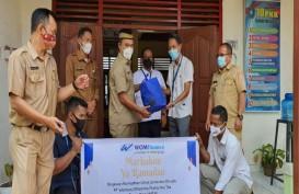 WOM Finance Salurkan CSR untuk Duafa di Sumsel Tekan Dampak Covid-19