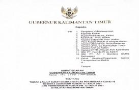 Gubernur Kaltim Terbitkan Surat Edaran Larangan Mudik