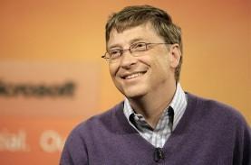 Saham Microsoft Melemah, Gara-Gara Bill Gates dan…