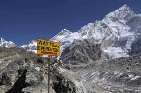 Kasus Covid-19 di Base Camp Everest Picu Kekhawatiran