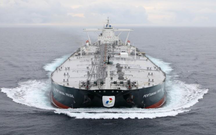 Armada kapal tanker Very Large Crude Carrier (VLCC) berkapasitas 2 juta barel PT Pertamina International Shipping.