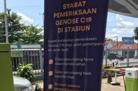 Sidak Tes Genose di Stasiun Cirebon, 2 Penumpang Positif…