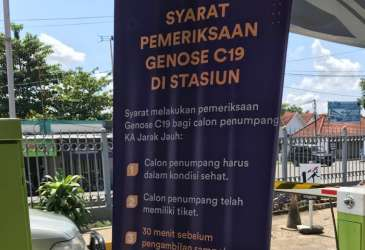 Sidak Tes Genose di Stasiun Cirebon, 2 Penumpang Positif Covid-19