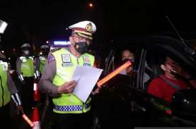 Mudik Lebaran Dilarang, Polda Metro Jaya Lakukan Penyekatan…