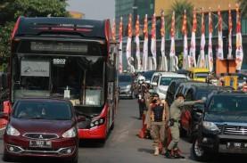 Larangan Mudik di Surabaya Paksa Sejumlah Kendaraan…