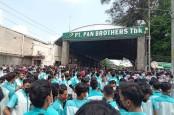 Setelah Demo Pekerja Soal THR, Pan Brothers (PBRX) Jelaskan Operasional Berjalan Normal