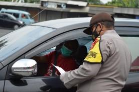 Penyekatan di Pantura Cirebon, Kendaraan Bernomor…