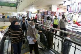 Puluhan Petugas Disebar di Mal dan Pusat Belanja Cegah…