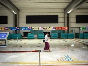 Hari Pertama Larangan Mudik Lebaran, Bandara Soekarno Hatta Sepi