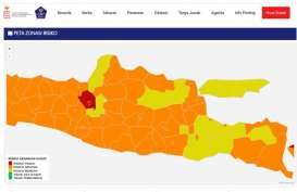 Jateng Kembali Memiliki Zona Merah Covid-19, Semarang dan Salatiga