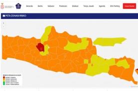 Jateng Kembali Memiliki Zona Merah Covid-19, Semarang…