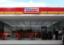 Tampilan gerai Alfamart, minimarket yang dikelola PT Sumber Alfaria Trijaya Tbk. (AMRT)./alfamart.co.id