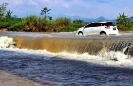 Update Potensi Banjir: Lokasi Pertemuan Sungai Cileungsi - Cikeas Siaga 1
