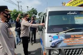 Mudik Dilarang, Polisi Putar Balik 500 Kendaraan di…