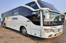 DAMRI Cuma Operasikan 20 Persen Bus saat Larangan…
