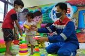 Pertamina Bangun Fasilitas Psikososial untuk Anak Terdampak Ledakan Kilang Balongan
