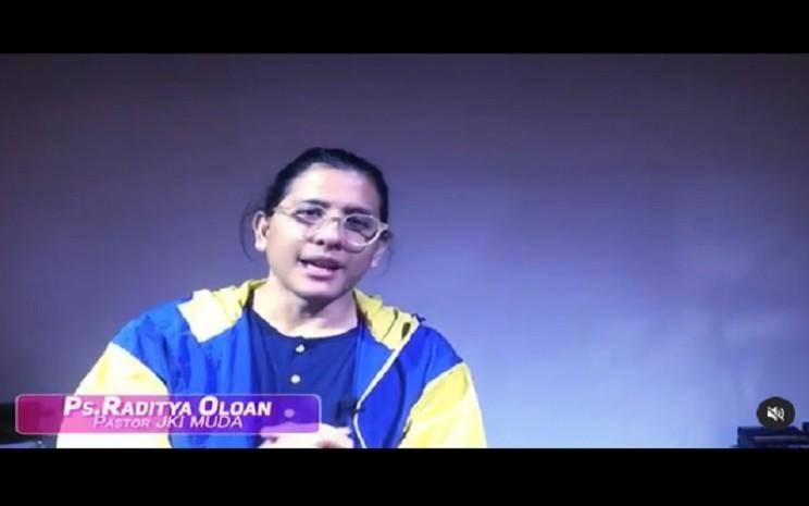 Pendeta Raditya Oloan Panggabean meninggal dunia akibat badai sitokin setelah terinfeksi Covid-19  -  Instagram Raditya Oloan