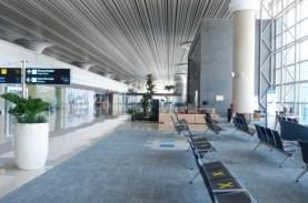 Hari Pertama Peniadaan Mudik, Operasional Bandara…
