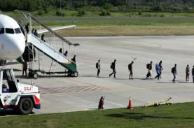 Larangan Mudik, Penumpang Bandara Pekanbaru Hanya…