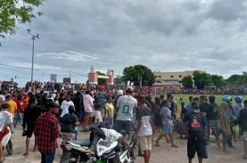 Tanpa Patuhi Prokes, Polisi Bubarkan Pertandingan…
