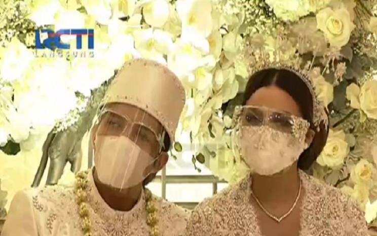 Atta Halilintar dan Aurel menikah Sabtu (3/4/2021). - Istimewa