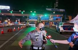 Penyekatan Mudik, Jumlah Kendaraan Keluar Jakarta Merosot