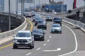 Jumlah Kendaraan Keluar Jakarta Turun 44,72 Persen…