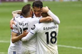 Hasil Liga Inggris, Leeds Sulitkan Spurs Raih Tiket…