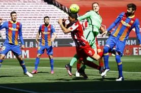 Hasil Big Match La Liga Spanyol, Barcelona vs Atletico…
