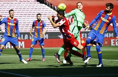 Hasil Big Match La Liga Spanyol, Barcelona vs Atletico Madrid Tanpa Gol