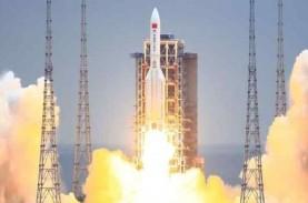 Puing-puing Roket China Jatuh di Samudera Hindia,…
