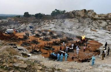 Kasus Kematian Akibat Covid-19 di India Rekor Lagi, Desakan Lockdown Menguat