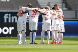 Hasil Bundesliga Jerman, Frankfurt Keluar dari Zona…