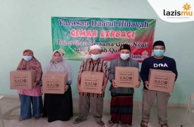 Lazismu Bagi 44.290 Paket Kado Ramadhan ke Fakir Miskin hingga Tukang Gali Kubur