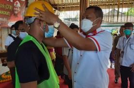 4 Desa di Gianyar Terima Bantuan Padat Karya Tunai…