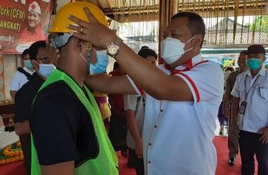 4 Desa di Gianyar Terima Bantuan Padat Karya Tunai untuk Kota Tanpa Kumuh