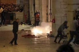 Israel Kembali Serang Jemaah Masjid Al-Aqsa dengan…