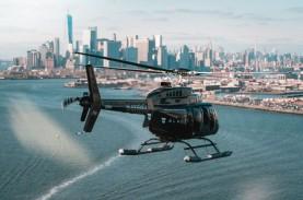 Pakai Helikopter, Jasa Marga Lakukan Simulasi Penyelamatan…